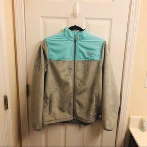 Fila Teal Fleece Jacket